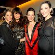 Helena Christensen, Topaz Page-Green, Liv Tyler au Lunchbox Fund's Fall Benefit Dinner à New York le 5 novembre 2014.
