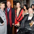 Trudie Styler, Sting, Topaz Page-Green au Lunchbox Fund's Fall Benefit Dinner à New York le 5 novembre 2014.