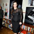 Liv Tyler enceinte au Lunchbox Fund's Fall Benefit Dinner à New York le 5 novembre 2014.