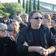 La soeur de Manitas de Plata - Obsèques de Manitas de Plata, célèbre guitariste de la musique gitane et du flamenco, en présence de sa famille et d'un millier de personnes au funérarium et au cimetière de Grammont, à Montpellier, le 8 novembre 2014.