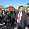 Obsèques de Manitas de Plata au funérarium et au cimetière de Grammont, à Montpellier, le 8 novembre 2014.