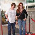 Melissa Gilbert et son fils Michael àLos Angeles, le 3 avril 2011.