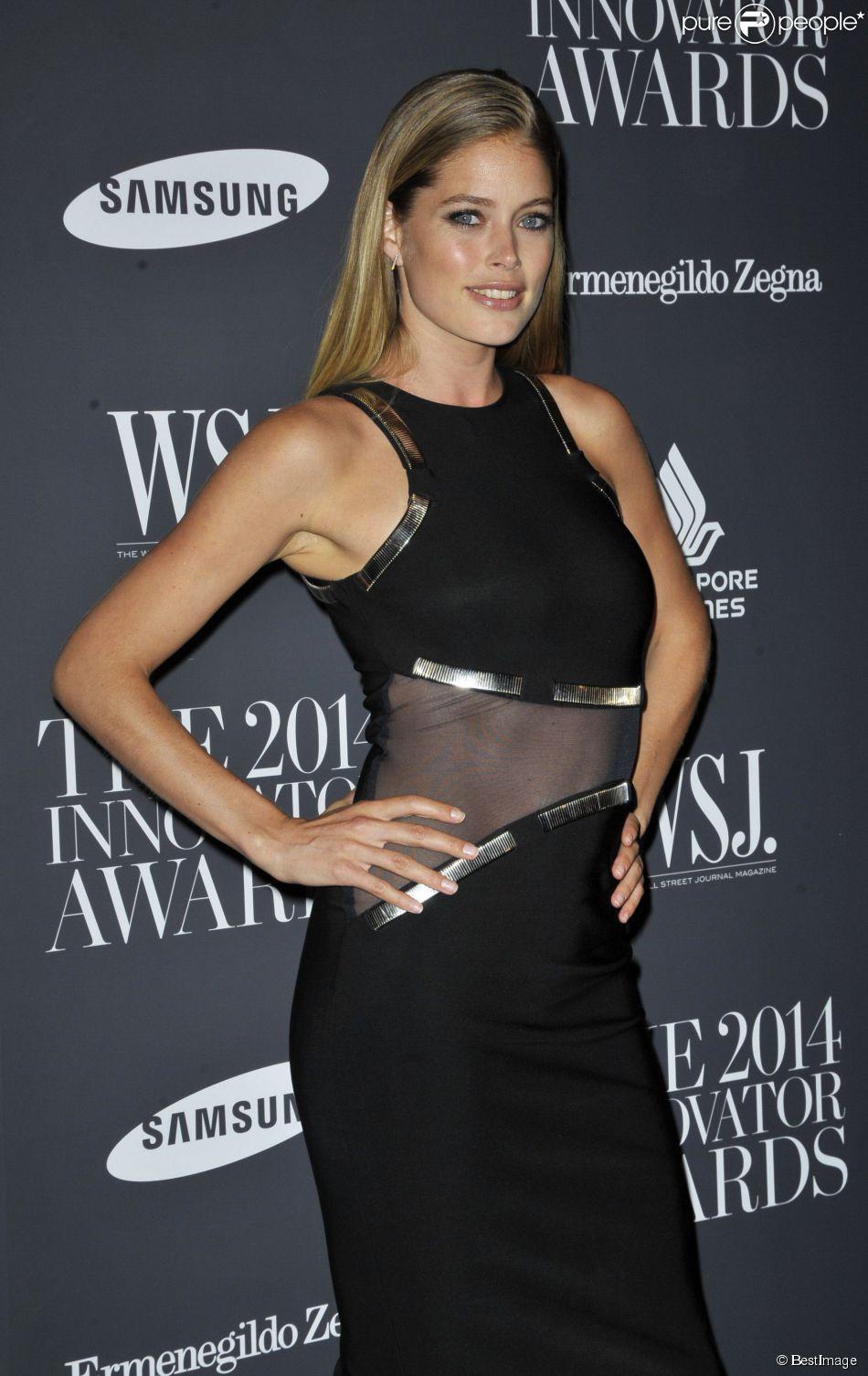 "Doutzen Kroes - Gala ""WSJ Innovator of the Year Awards"" à New York. Le 5 novembre 2014"