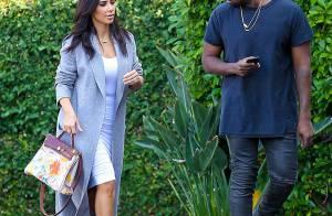 Kim Kardashian : Sacrilège, sa fille North dessine... sur un sac Hermès !