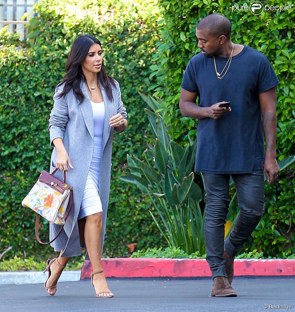 hermes purses - Kim Kardashian : Sacril��ge, sa fille North dessine... sur un sac ...