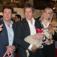 Francis Fulton-Smith, Hugh Grant, Kathrin Glock - Inauguration du marché de Noël à Salzbourg en Autriche le 11 novembre 2014.