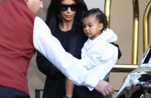 Kim Kardashian : North, craquante pour la baby shower de Kourtney Kardashian