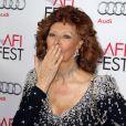 Sophia Loren - Soirée hommage à Sophia Loren lors du AFI FEST à Hollywood, le 12 novembre 2014.