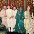 Reportage vidéo sur le mariage du prince Moulay Rachid du Maroc et de Lalla Oum Keltoum (née Boufares) le 13 novembre 2014 au palais royal de Rabat.