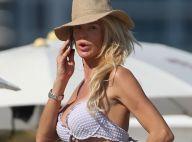 Victoria Silvstedt : Quarantenaire sexy en bikini, elle profite de la plage