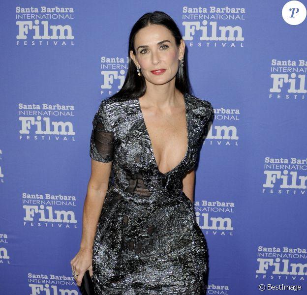 Demi Moore - Festival international du film de Santa Barbara le 16 novembre 2014.