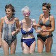 Cayetana Fitz-James Stuart, 18e duchesse d'Albe, à Ibiza en août 2013. La flamboyante aristocrate est morte le 20 novembre 2014 à l'âge de 88 ans.