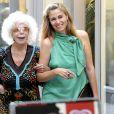 Cayetana Fitz-James Stuart, 18e duchesse d'Albe, à Perpignan en septembre 2009. La flamboyante aristocrate est morte le 20 novembre 2014 à l'âge de 88 ans.