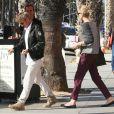 Exclusif - Charlize Theron et son compagnon Sean Penn à Santa Monica, le 19 novembre 2014.