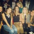 Alexandra Rosenfeld : Nouvelle coupe de cheveux et folle soirée avec ses copines Miss France. Ici, entourée de Laury Thilleman et Marine Lorphelin