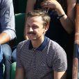 Martin Solveig - People dans les tribunes de Roland Garros lors de la Coupe Davis. Le 12 septembre 2014