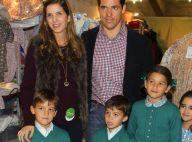 Louis de Bourbon et Margarita : Les amoureux et leurs bambins épaulent Pilar