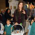 La princesse Margarita de Bourbon était en famille le 22 novembre 2014 à Madrid lors de la vente caritative Rastrillo Nuevo Futuro, au profit de l'association qui vient en aide aux orphelins.
