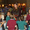 La princesse Margarita, accompagnée de son mari le prince Louis de Bourbon et leurs enfants Eugenia, Luis et Alfonso, était le 22 novembre 2014 à Madrid à la vente caritative Rastrillo Nuevo Futuro, au profit de l'association qui vient en aide aux orphelins.