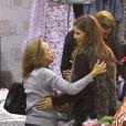 Amparo Corell et la princesse Margarita de Bourbon    le 22 novembre 2014 à Madrid lors la vente de charité de l'association Nuevo Futuro, dont elle est la présidente d'honneur.