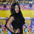 """La ravissante Ayem Nour - Générale du spectacle """"Bollywood Express"""" au Palais des Congrès à Paris, le 27 novembre 2014"""