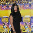 """La belle Ayem Nour - Générale du spectacle """"Bollywood Express"""" au Palais des Congrès à Paris, le 27 novembre 2014"""