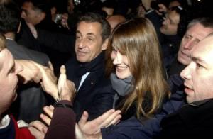 PSG-Nice : Sarkozy savoure la victoire au Parc avec les people, puis avec Carla