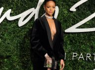 Rihanna : Torride aux British Fashion Awards face à Kylie Minogue