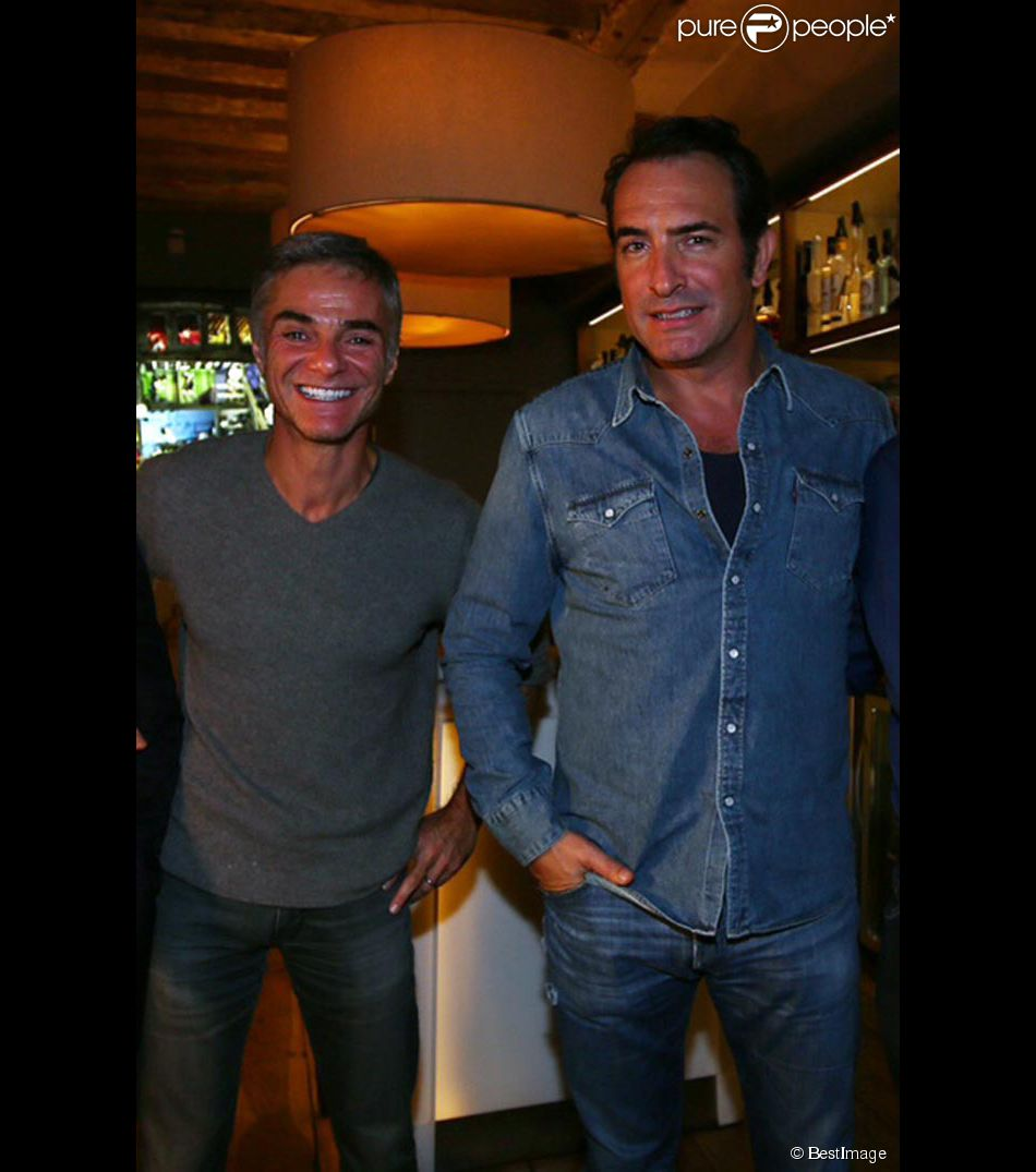 Exclusif jean dujardin et cyril viguier lors de l for Jean dujardin interview