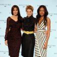 Moncia Bellucci, Léa Seydoux et Naomie Harris - Photocall avec les acteurs de la 24ème production du nouveau film de James Bond à Pinewood. Le 4 décembre 2014