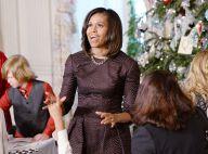 Michelle Obama ravissante pour le coup d'envoi de Noël à la Maison Blanche
