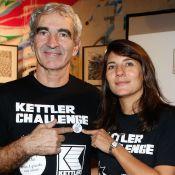 Estelle Denis et Raymond Domenech : Unis dans l'effort avec Stéphane Plaza