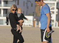 Fergie et Josh Duhamel, parents au top : Sortie plage avec leur irrésistible Axl