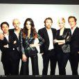 La belle Leila, grande gagnante de Secret Story 8 a posté plusieurs photo d'elle aux côtés des membres du casting de la série Les mystères de l'amour. Novembre 2014.