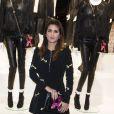 """Géraldine Nakache - Présentation du sac """"Balloon Dog"""" de Jeff Koons pour H&M au centre Pompidou à Paris le 9 décembre 2014."""