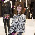 """Daphné Bürki - Présentation du sac """"Balloon Dog"""" de Jeff Koons pour H&M au centre Pompidou à Paris le 9 décembre 2014."""