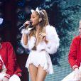 Ariana Grande lors du Jingle Ball à Philadelphie le 10 décembre 2014.