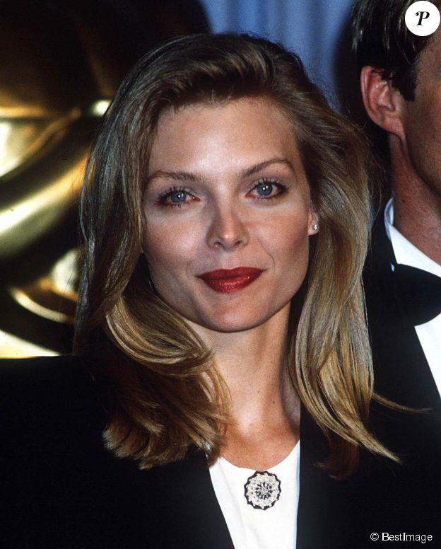 Michelle Pfeiffer le 31 mars 1989 à la cérémonie des Oscars 1989 à Los Angeles. ©Bestimage