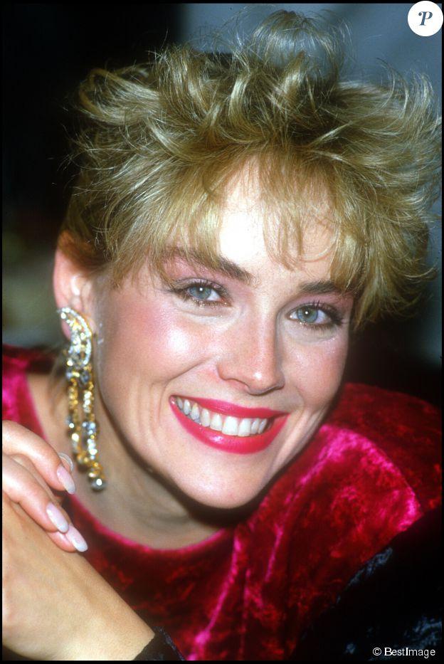 Sharon Stone à la soirée des Césars 1986 le 23 février 1986. ©BestImage