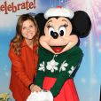 """Tiffani Thiessen - Spectacle Disney On Ice Let's Celebrate ! à Los Angeles, le 11 décembre 2014"""