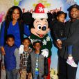 """Laila Ali - Spectacle Disney On Ice Let's Celebrate ! à Los Angeles, le 11 décembre 2014"""