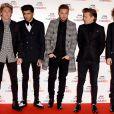 One Direction à Londres, le 11 décembre 2014.