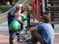 PHOTOS : Amanda Peet, pause tendresse avec sa fille et son mari