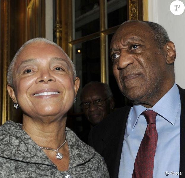 Camille Cosby et Bill Cosby à New York le 6 novembre 2009.