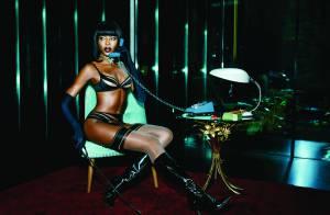 Naomi Campbell : 44 ans et un corps de déesse qu'elle expose en lingerie