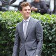 """"""" Jamie Dornan chic séducteur sur le tournage de """"Fifty Shades Of Grey"""" à Vancouver, le 13 octobre 2014. """""""