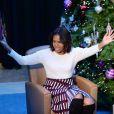 Michelle Obama a lu un conte pour enfants lors de sa viste à Children's National Health System à Washington, le 15 décembre 2014