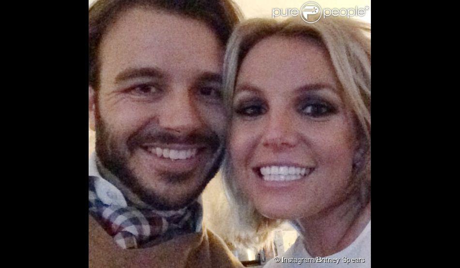 Britney Spears a publié un selfie en compagnie de son nouveau boyfriend, sur Instagram, le 9 novembre 2014.