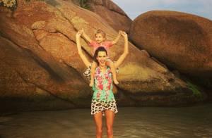 Alessandra Ambrosio : Noël au soleil et en famille !