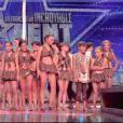 Les Entre Filles Junior dans La France a un incroyable talent sur M6, le mardi 23 décembre 2014.